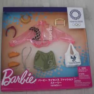 【バービー】ライセンスファッションストーリー 東京2020オリンピック