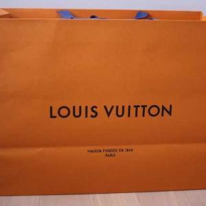 LOUIS VUITTONで大物購入!