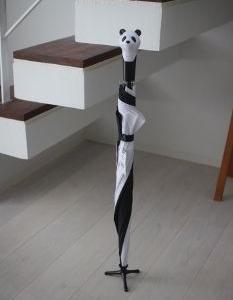 激カワ!自立するアニマルデザインの雨傘