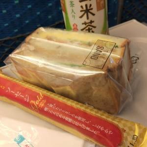東京駅を出発するときはサンドイッチと別撰素材ソーセージが、新大阪駅から東京に戻るときはチップスター極(伊勢えび味)が、旅のお供をしてくれました!