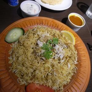 バングラデシュ料理 マトンビリアニ