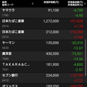 本日の持ち株報告7/12/2021 日経爆上げ!全指数プラス!私ももうすぐ救われるか?!