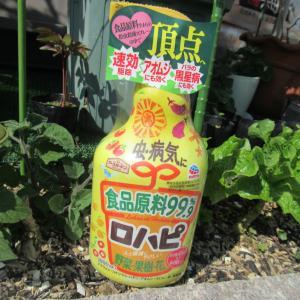 食品原料の殺虫殺菌剤・アースガーデン ロハピ