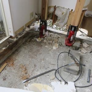 仙台市太白区越路アパート『耐震改修リフォーム』が続きます。