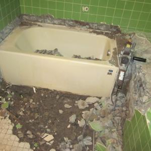 仙台市若林区河原町一戸建て『浴室リフォーム』着工です。