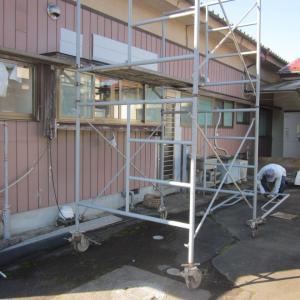 宮城県名取市高舘一戸建て『外壁塗装リフォーム』がスタートです。