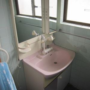 宮城県名取市一戸建て『洗面化粧台リフォーム』完成です。