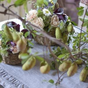 ディスプレイのお花