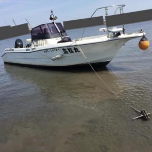 平成最後の仕事は遊漁船業でした