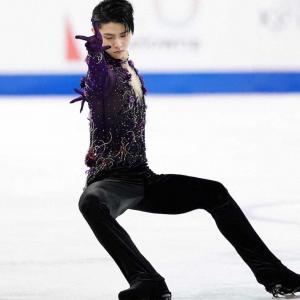おめでとう‼️ スケートカナダ優勝