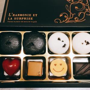 2019年広島県福山市のバレンタインチョコレート【黒トリュフマカロン&ショコラ】