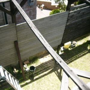 塀の補修・・・再び