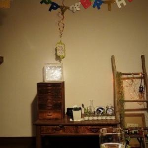 自宅おもてなし誕生日