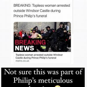 R.I.P. 失言王、フィリップ殿下