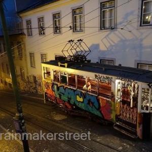 LISBON ・UTRECHT TRAVELOGUE 18 (リスボン その7 夜景とサンタジュスタの恐怖)