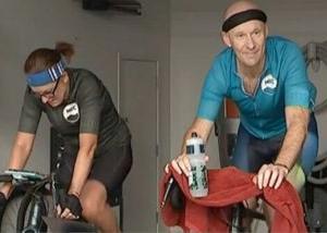 自転車でも社会的距離をとる