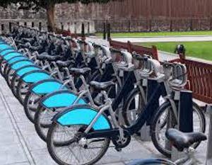 オンデマンドのシェア自転車