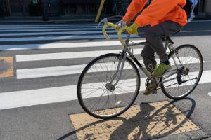 コロナを避けて自転車にする