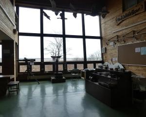 ウトナイ湖ネイチャーセンターの閉館解除