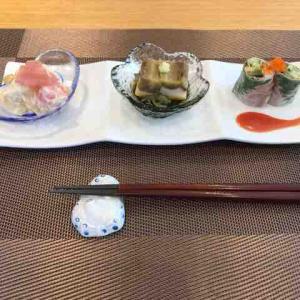 茶寮 吉芳 (8月の食事会)
