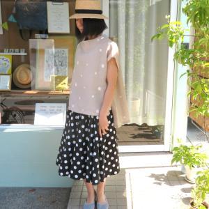 サーキュラースカートはやっぱり可愛い!着て見ました、no.7