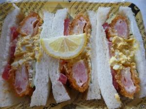 お気に入りのサンドイッチ