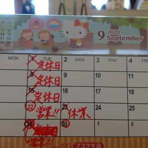 明日29日(火)は営業致します(・∀・)つ