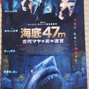 海底47m古代マヤの死の迷宮~コロナ禍の映画館