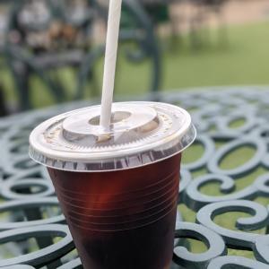 道の駅で水出しコーヒー