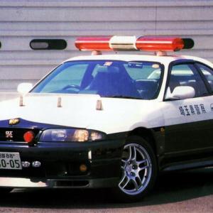 懐かしのパトカーネタ R33GTRパトカー 埼玉県警