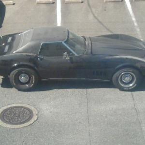 最近の珍車~コルベットスティングレイ1971y?