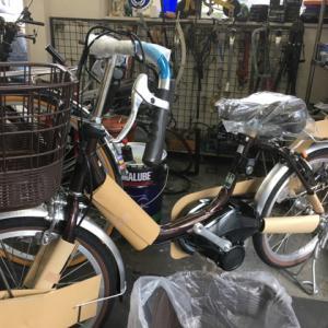 20インチ電動自転車納車整備