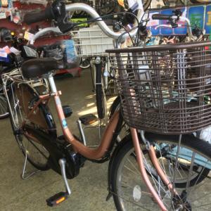 中古電動自転車納車