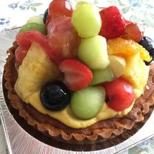 フルーツてんこ盛りのタルト♪