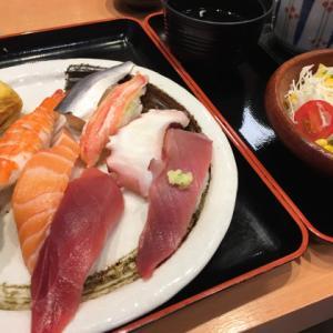 魚がし鮨でレディスセット