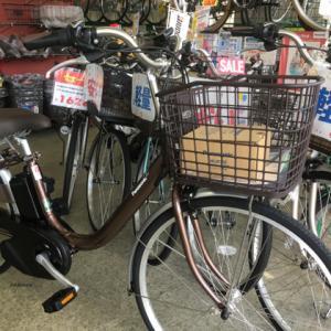 軽量!電動自転車パナソニックビビL納車