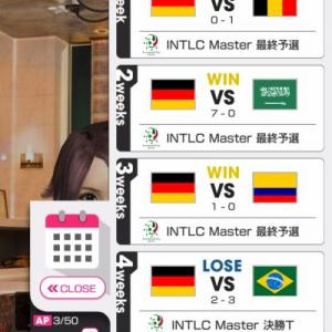 INTLC Masterドイツが全然勝てない…