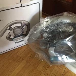 電源ボタンが壊れた掃除機を買い替えました