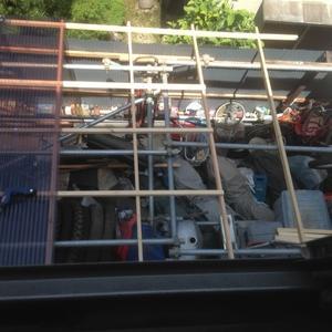 ガレージ屋根修理・・・続き