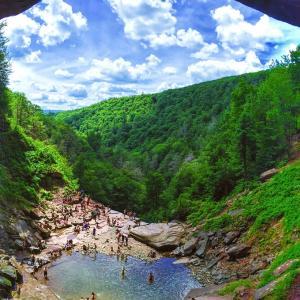 満月♡ご感想♡滝に行って、川で泳いで浄化が促されました。*゚○.+✨《2019MAM》