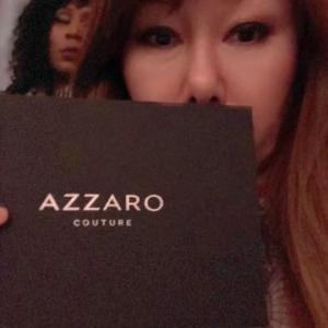 パリコレオートクチュール「AZZARO」