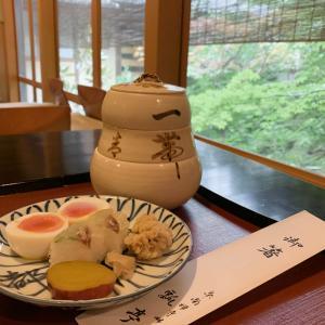 瓢亭の朝粥