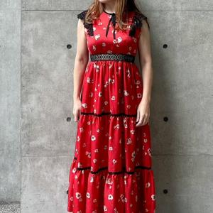 LaPremiere<RosePremiere・フラワー・マキシワンピ&レオパード・スカート>