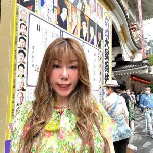 歌舞伎座へ
