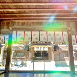 伊弉諾神宮へ正式参拝