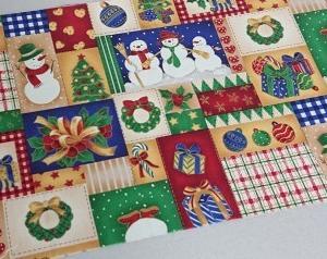 パッチワーク用の布で…   クリスマスBOX