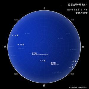 綾の光時通信 「惑星直列」明け方に見えるかな(^_-)-☆