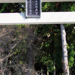 浅間神社へ(*^^*)