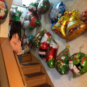 クリスマス会の飾り