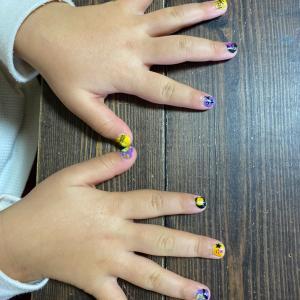 生徒さんの爪